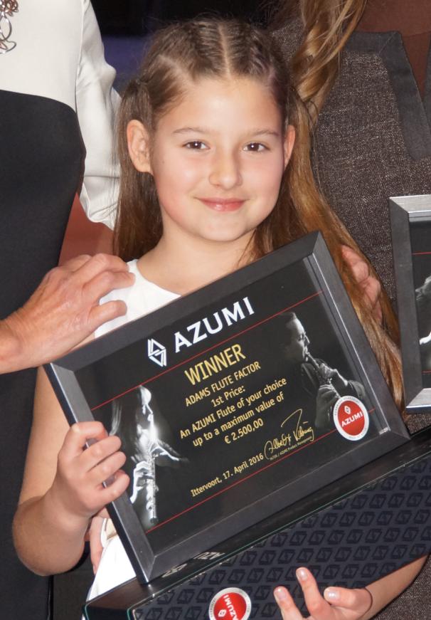 Jana Ilic - 1e prijs Adams Flute Factor 2016 (foto: Mehdi Taherian)
