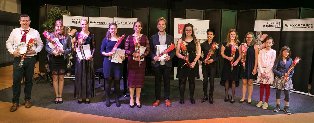 Winnaars Benelux Fluitconcours